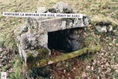 Fontaine (fin XIXe, dévut XXe), La Montade