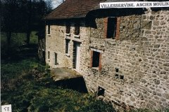 Ancien moulin, Villeservine