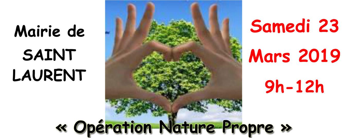 Opération Nature Propre